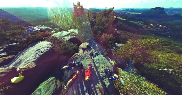 Камера-мячик Throwable Panoramic Ball Camera для съемки панорам