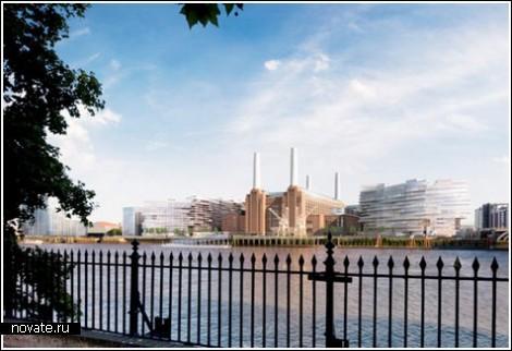 Была электростанция, а будет новый район Лондона