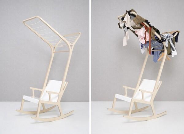 Objet E – кресло-качалка для сушки белья