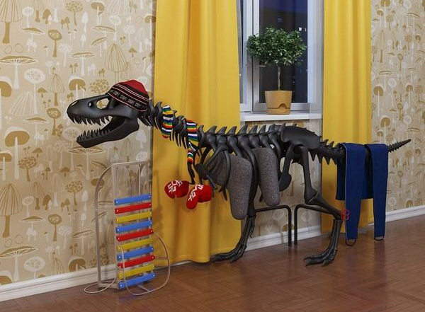 Сушилка-динозавр