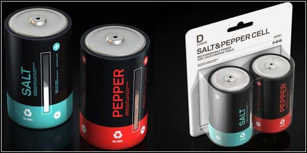 Батарейки «Соль» и «Перец»