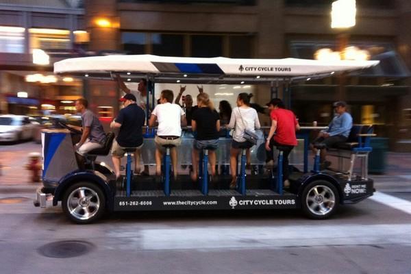 Пивные велопрогулки по городу