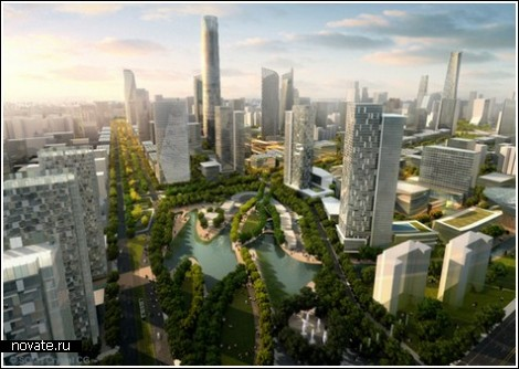 будущий зелёный Пекин