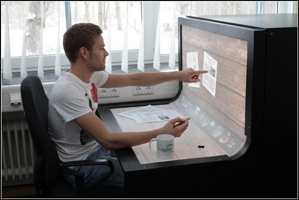 Интерактивный стол Bend Desk
