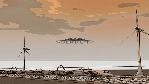 Беркут – скоростной экспресс между Астаной и Алматы