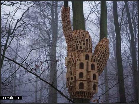 Общежитие для птиц
