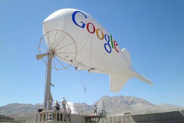 Дирижабли от Google: новый способ распространения Интернета