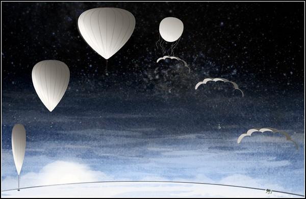 Bloon – воздушный шар для космических полетов