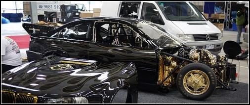 Золотой BMW – мечта арабского шейха