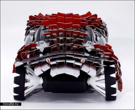 Автомобиль-дикобраз от BMW