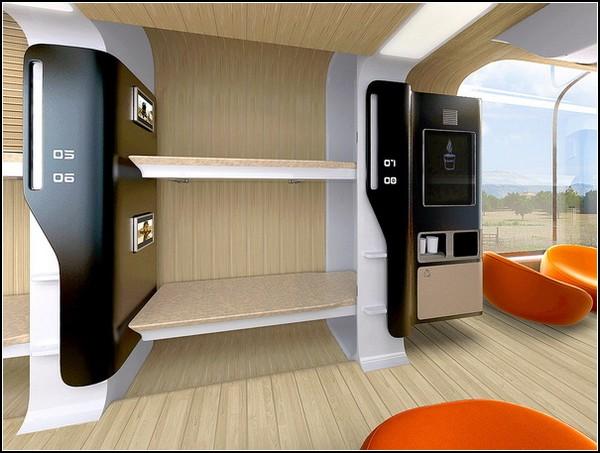 Комфортный поезд Bombardier Car