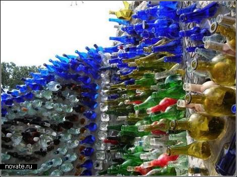 Самый   красивый бутылочный дом