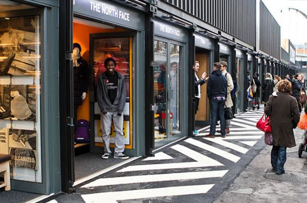 Boxpark Shoreditch � �������� ����� �� ������ �����������
