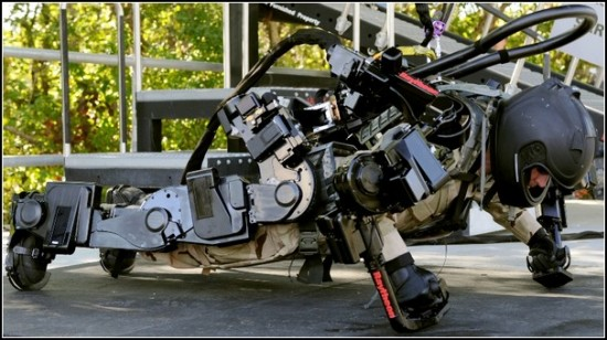 Будущий Железный Человек – рабочий экзоскелет