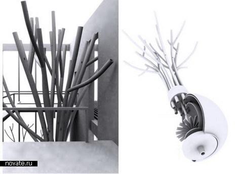 Дерево-кондиционер