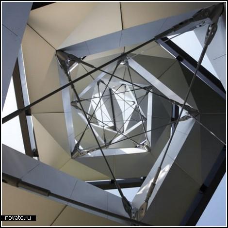 Смотровая башня в виде молекулы ДНК