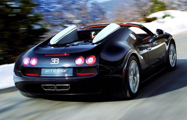 Bugatti Veyron Grand Sport Vitesse – самый быстрый в мире кабриолет