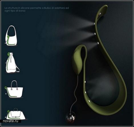 Фонарик для женской сумочки