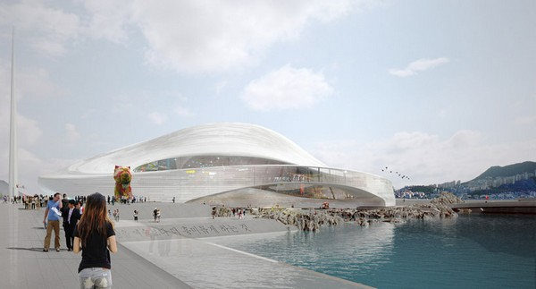 Мультимедийный оперный театр Busan Opera House