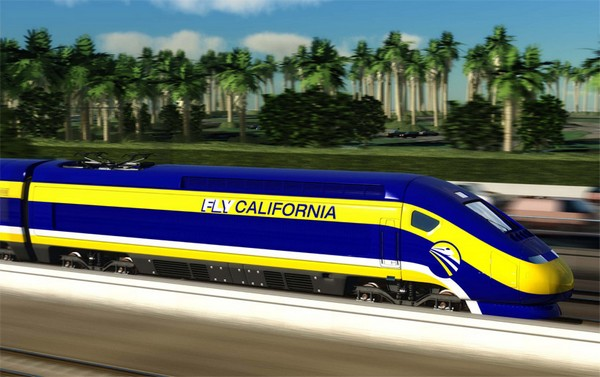 FlyCalifornia – первый американский скоростной поезд