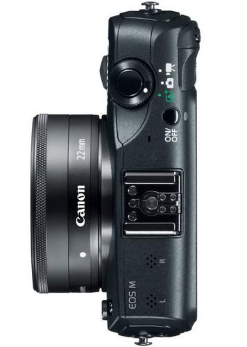 EOS М — беззеракальная камера от Canon