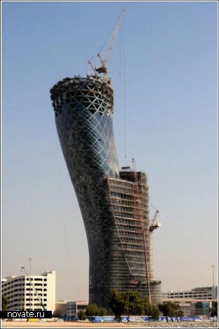 Кривая башня в Абу-Даби