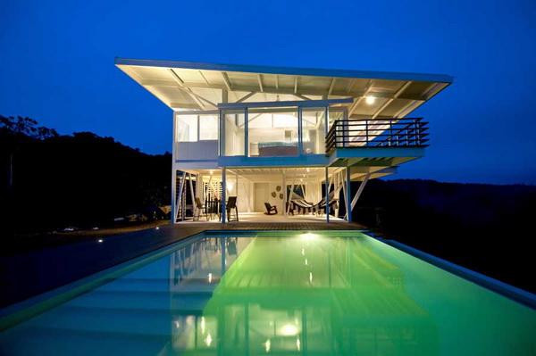 Iseami House – шикарный особняк в Коста Рике