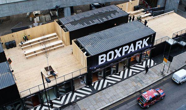 Boxpark Shoreditch – торговый центр из старых контейнеров