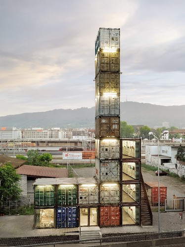Магазин-небоскреб в Цюрихе