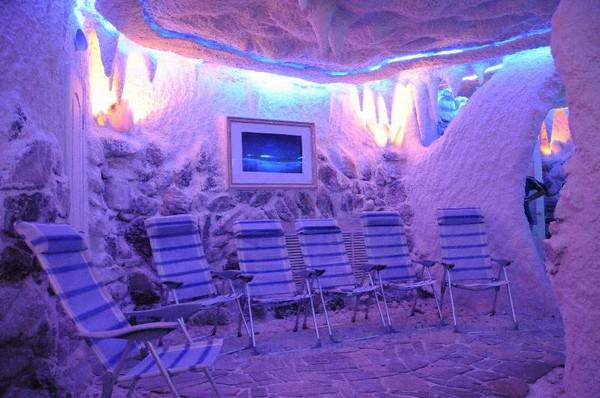 Соляная пещера в Днепропетровске