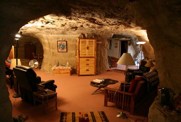 Пещерный отель в Мехико