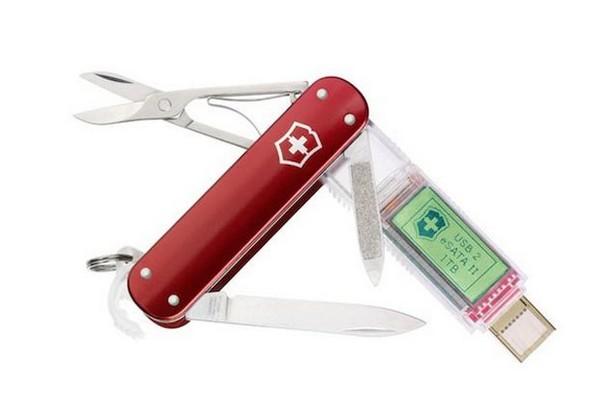 Victorinox SSD – швейцарский нож с 1 ТБ памяти