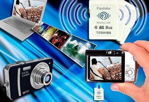 Toshiba FlashAir – карточка памяти с Wi-Fi