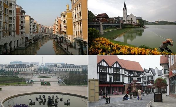 Китайские копии известных архитектурных сооружений