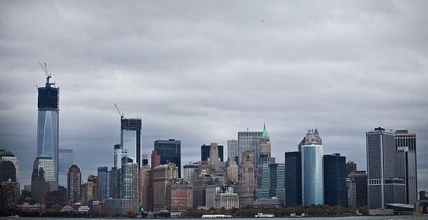 Манхеттен и излучина реки Гудзон