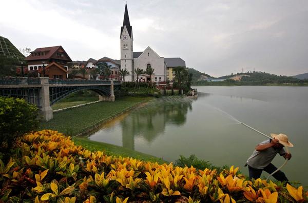 Австрийский городок Hallstatt