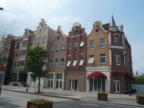 Типичный город в Нидерландах
