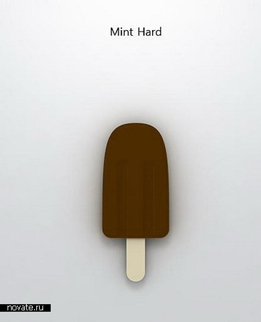 Жесткий диск и флешка в виде мороженого