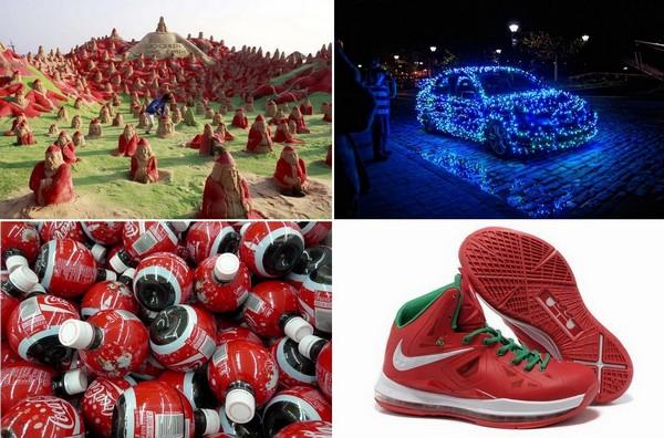 Самый лучший рождественский креатив 2012 года