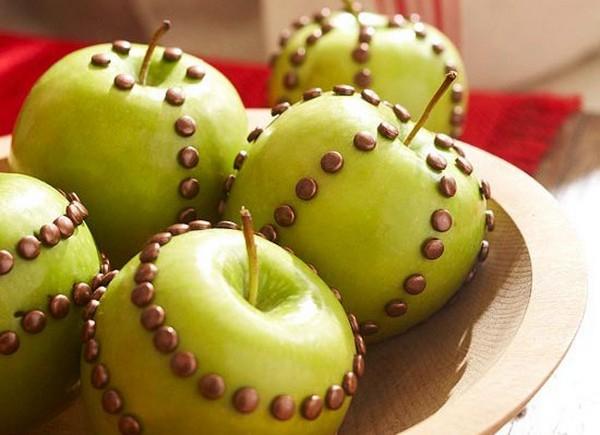Праздничные яблоки