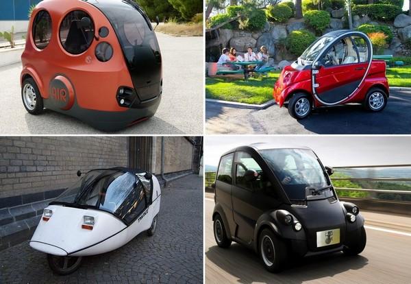 Самые необычные в мире городские автомобили