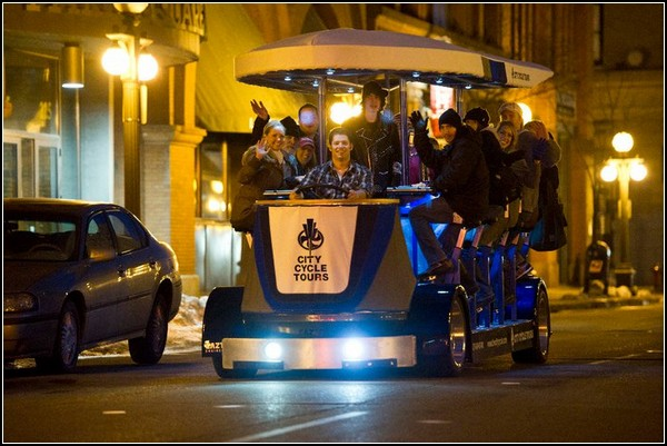 City Cycle – пивбар для велосипедных прогулок по городу