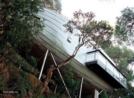 Дом в виде кокона