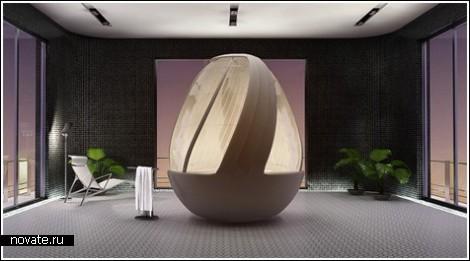 Универсальное яйцо для ванной