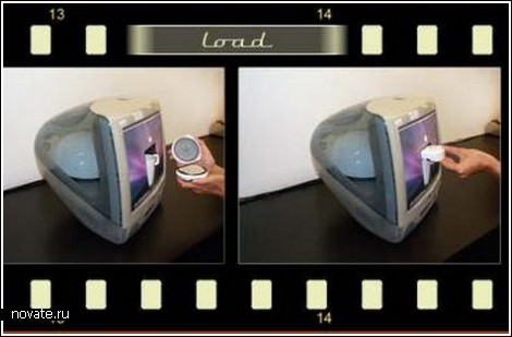Кофеварка в мониторе