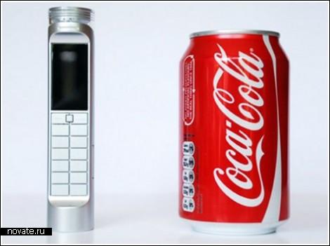 Телефон Nokia, который работает от Колы