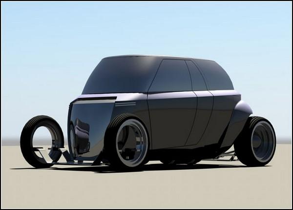 Автомобиль-палатка Compact Camper Van
