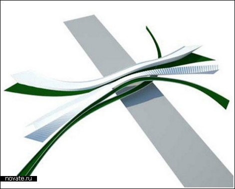 «Зеленые» мосты над автострадами в Лос-Анджелесе