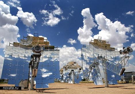 Солнечные батареи на всю Сахару