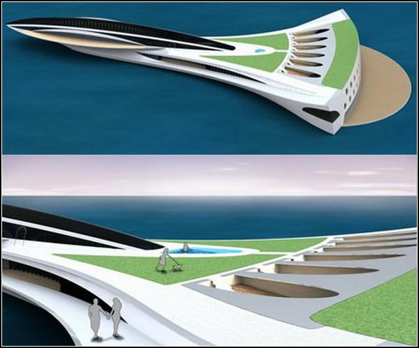 Concorde Yacht – яхта с собственным парком